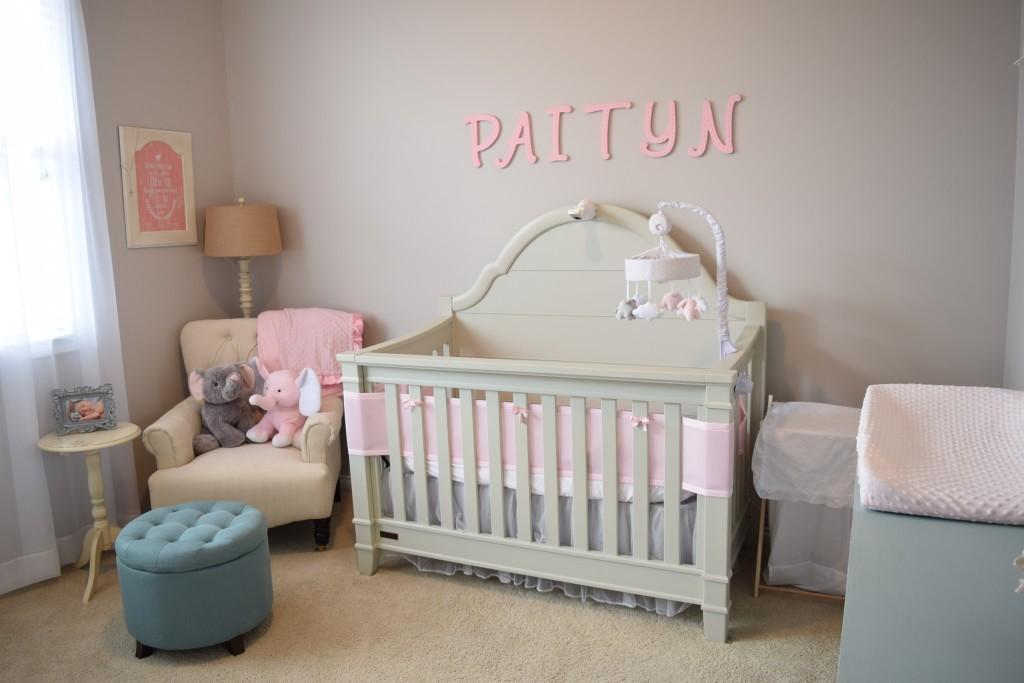 My Baby Girl S Nursery: Shabby Chic Nursery Design For Baby Girl